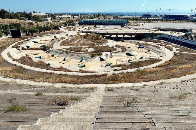 Canh do nat tai cac cong trinh phuc vu Olympic qua khu hinh anh 13