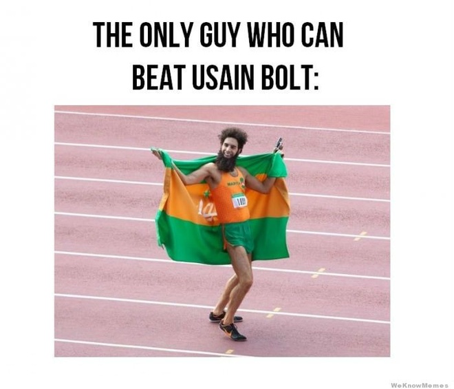Anh vui ve suc manh va su thong tri cua Usain Bolt hinh anh 1