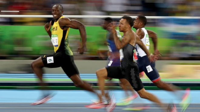 Anh vui ve suc manh va su thong tri cua Usain Bolt hinh anh