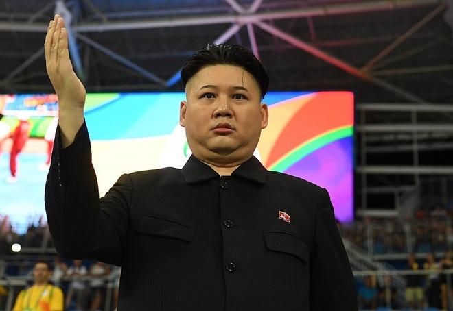 Co dong vien Olympic gay chu y vi giong ong Kim Jong Un hinh anh