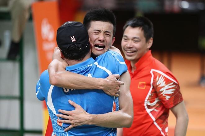 Chen Long khoc nuc no khi da bai Lee Chong Wei hinh anh
