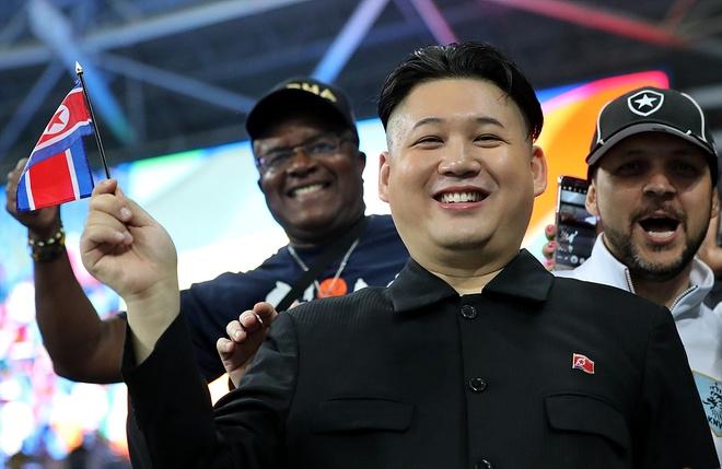 Co dong vien giong Kim Jong Un duoc chu y o Brazil hinh anh 8