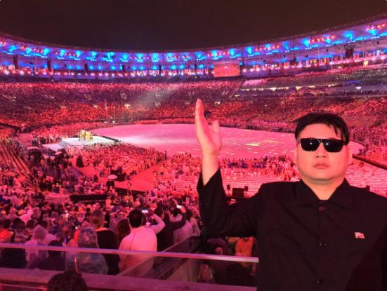 Co dong vien giong Kim Jong Un duoc chu y o Brazil hinh anh 7