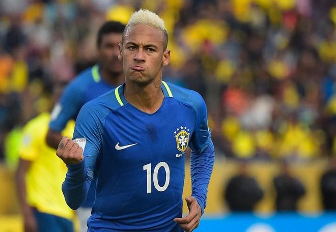 Neymar ghi ban va kien tao, Brazil thang o do cao 3.000 met hinh anh