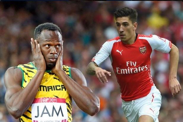 Wenger: 'Bellerin con kem xa Usain Bolt' hinh anh