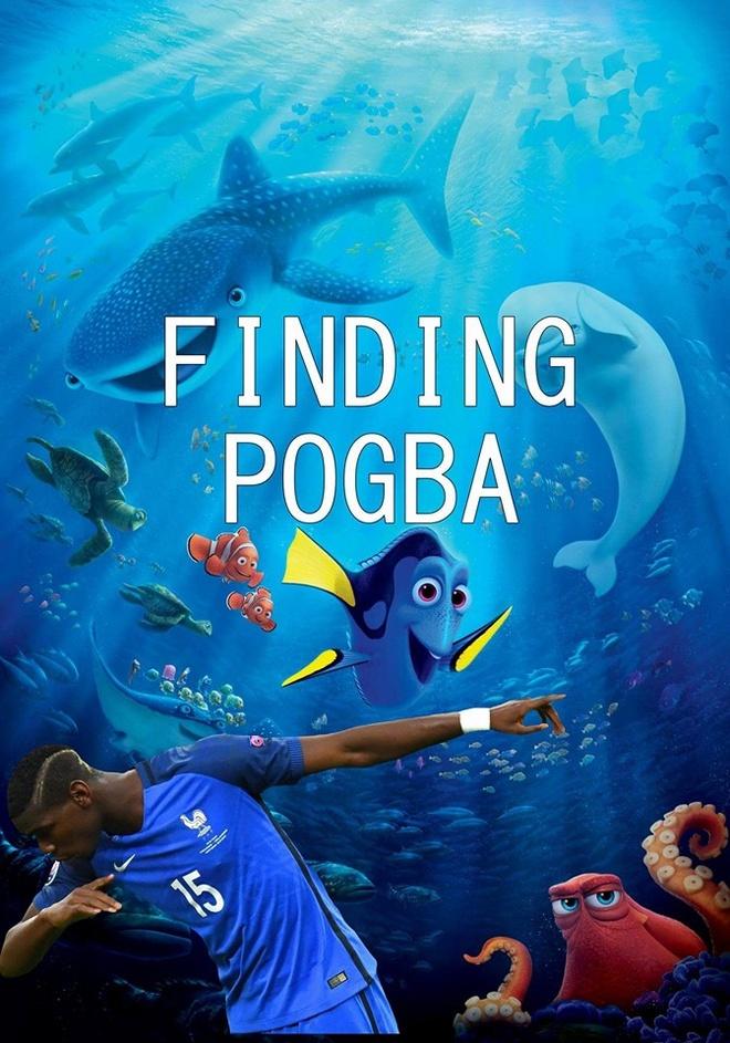 anh che Pogba va Mourinho anh 2