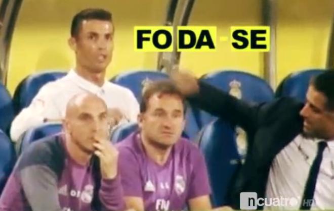 Ronaldo bi nghi chui Zidane anh 1