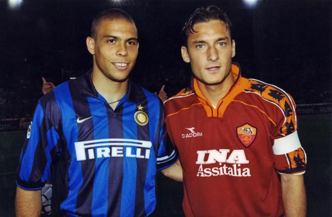 Totti, Ro beo, Nesta va the he 1976 quai kiet hinh anh
