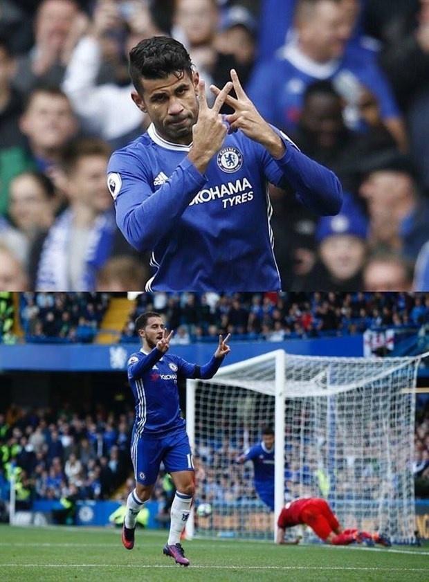 Vi sao Costa va Hazard gio 2 chu V an mung? hinh anh 1
