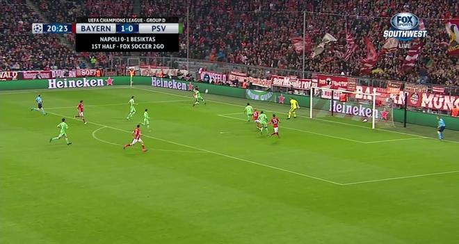 Tran Bayern vs PSV anh 6