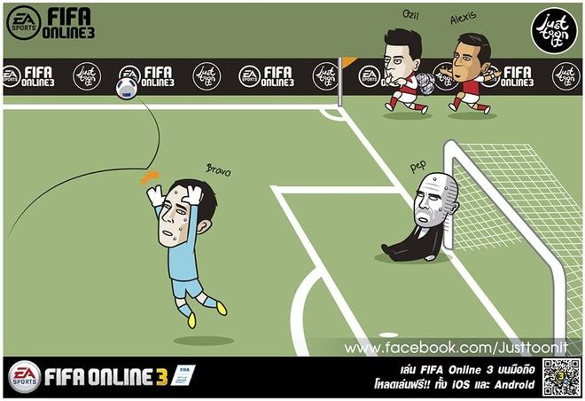Pep khoc thet, da gay doi khung anh chup Messi hinh anh 2