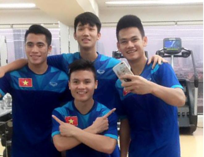 tran U19 Viet Nam vs U19 Nhat ban anh 1