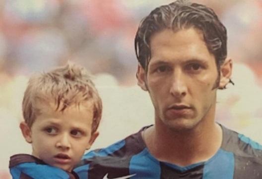 Materazzi dang anh 'bay' cua con trai trong ngay sinh nhat hinh anh