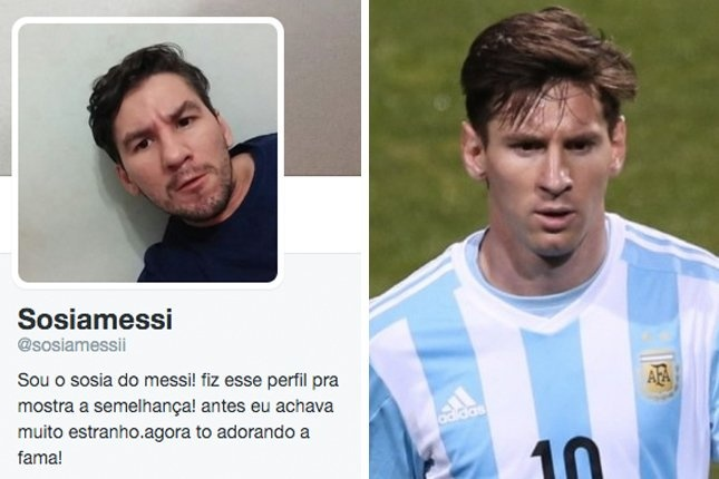 Ban sao cua Messi xuat hien tai Brazil hinh anh