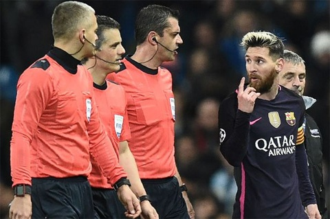 UEFA ra phan quyet ve vu Messi gay go hinh anh 1