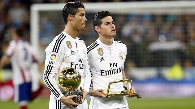 'James lay nhiem thoi xau cua Ronaldo' hinh anh 1