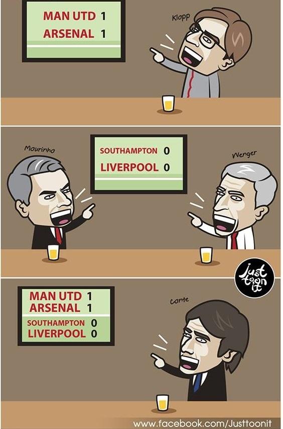 Biem hoa Mourinho va Wenger tu hai lan nhau hinh anh 7