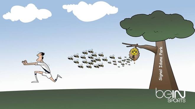 Biem hoa Toure va Mkhitaryan nhu 2 chu chim so long hinh anh 3