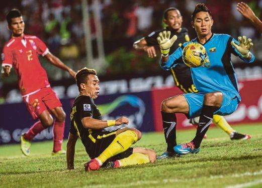 Tran Myanmar vs Malaysia anh 1