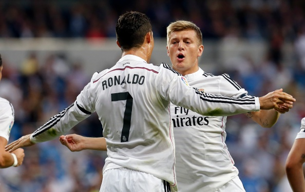 Kroos danh gia Bale va Modric cao hon CR7 hinh anh