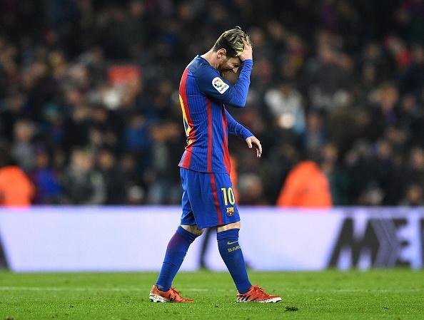 Messi lap ky luc tit ngoi o El Clasico hinh anh 1