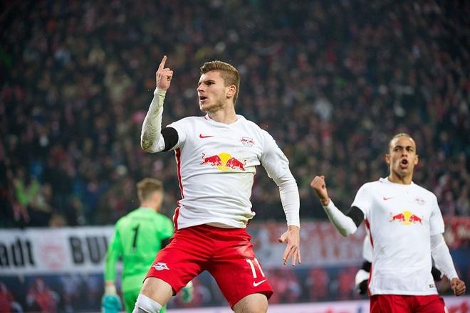 RB Leipzig dan dau Bundesliga anh 2