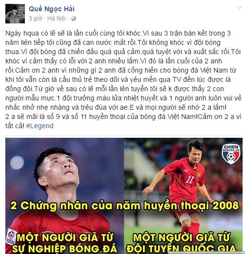 Ngoc Hai khoc can nuoc mat vi Cong Vinh, Thanh Luong hinh anh 1