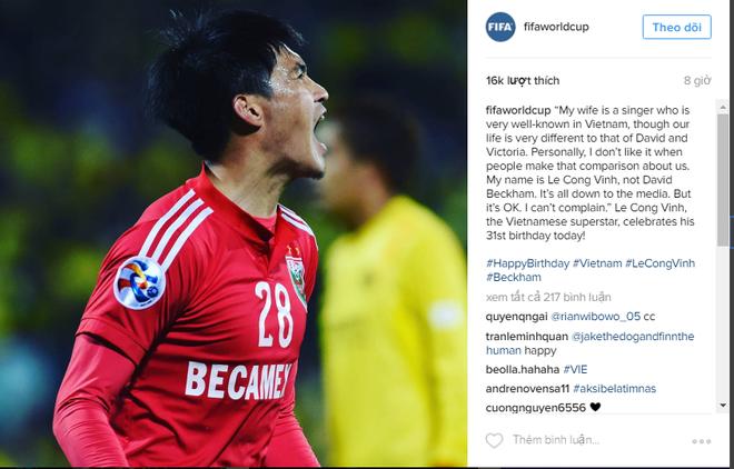 Cong Vinh duoc FIFA chuc mung sinh nhat anh 1