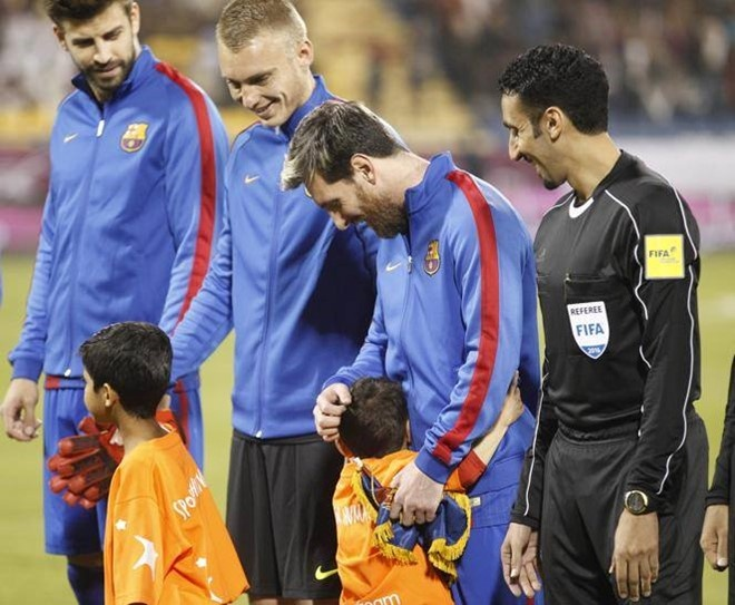 Messi tro lai hien lanh sau 5 thang 'noi loan'? hinh anh 6