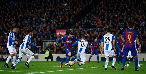 Messi tro lai hien lanh sau 5 thang 'noi loan'? hinh anh 9