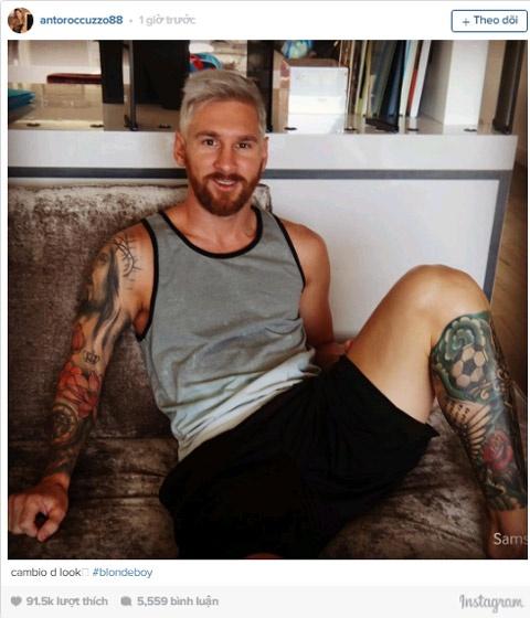 Messi tro lai hien lanh sau 5 thang 'noi loan'? hinh anh 1