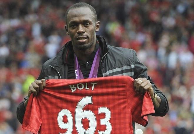 Usain Bolt bat ngo goi dien khen MU nhiet liet hinh anh