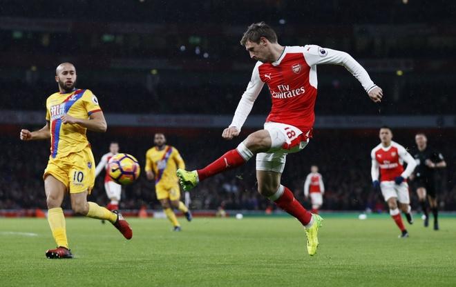 Tran Arsenal vs Crystal Palace anh 2