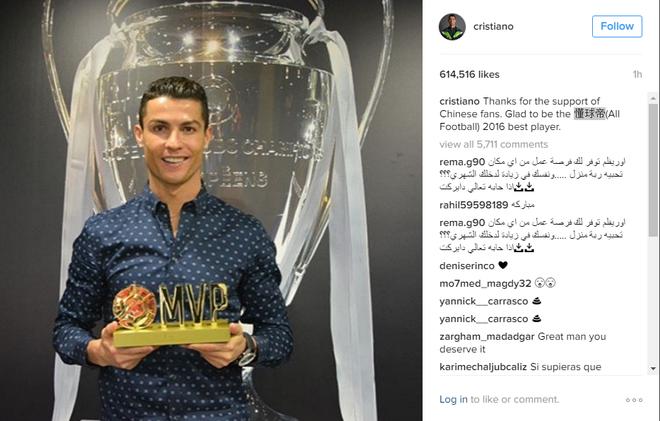 Ronaldo bi dau co tay anh 2