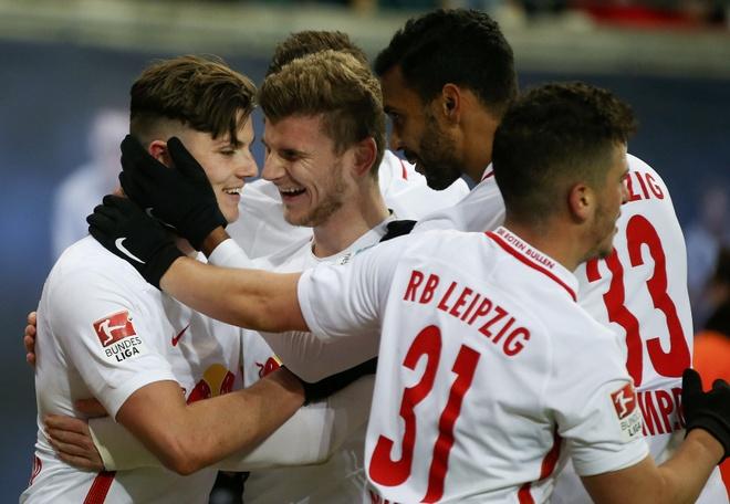 Leipzig ha guc doi bat bai cuoi cung cua Bundesliga hinh anh 7
