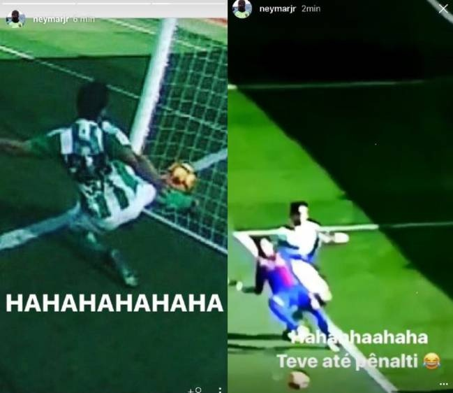 Neymar cuoi ngat ngheo truoc ban thang bi cuop hinh anh 1