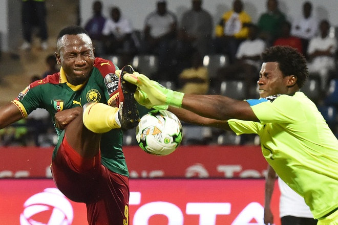 Cameroon doat ve da chung ket cup chau Phi hinh anh 1