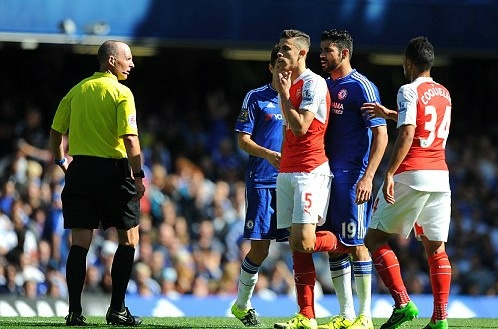Tran Chelsea vs Arsenal anh 5