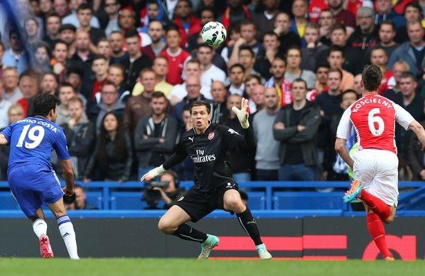 Tran Chelsea vs Arsenal anh 9