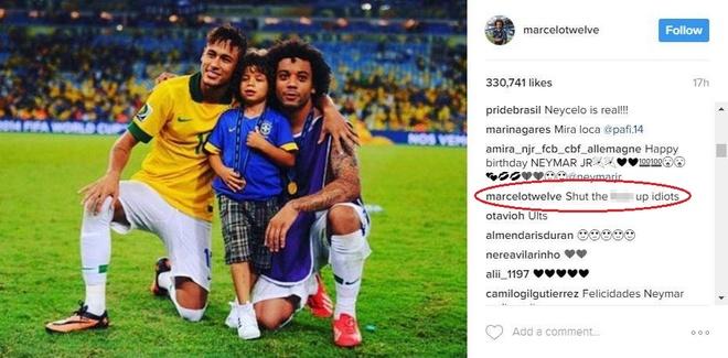 Marcelo mang fan Real: 'Cam mieng di lu dan' hinh anh 2