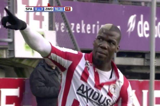 Anh trai Pogba danh dau ghi 2 ban o phut bu gio hinh anh 1
