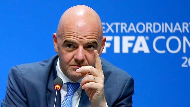 Chu tich FIFA lai neu y tuong la cho World Cup hinh anh 1