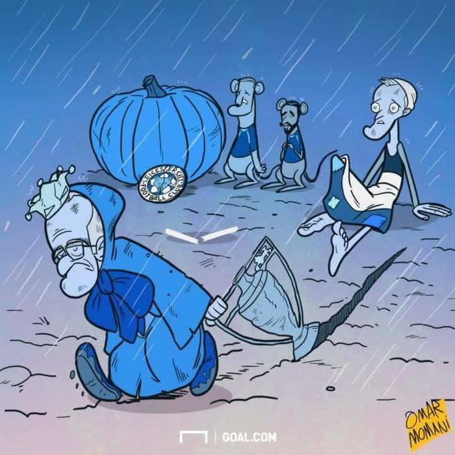Biem hoa lo lem Ranieri that theu di trong mua hinh anh 1