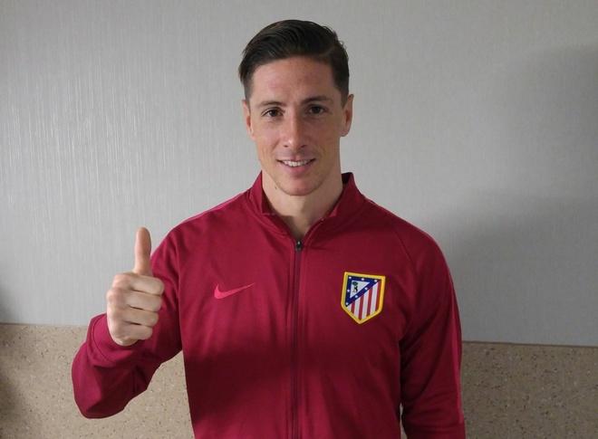 Torres tro lai tap luyen anh 8