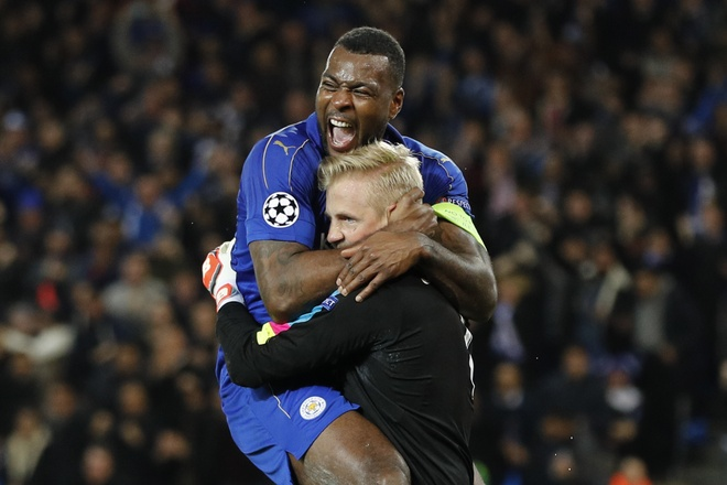 Leicester nguoc dong viet tiep chuyen than ky o cup chau Au hinh anh