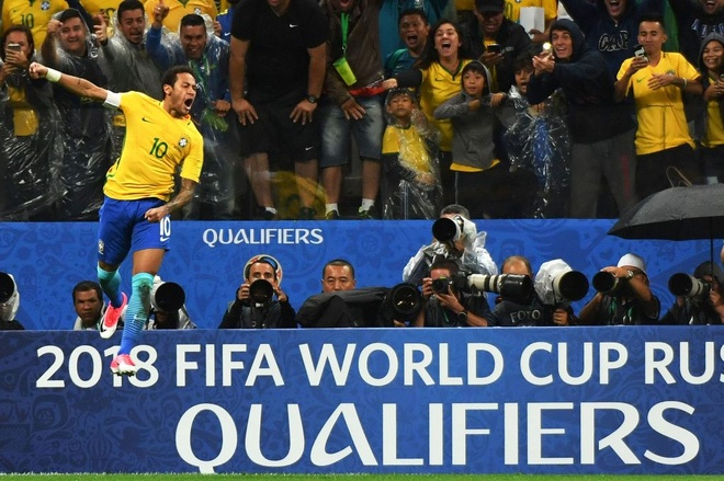 Brazil lap them chien cong sau khi doat ve World Cup hinh anh 1