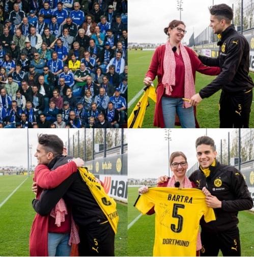 Fan nu Dortmund duoc trong thuong nho long qua cam hinh anh 2