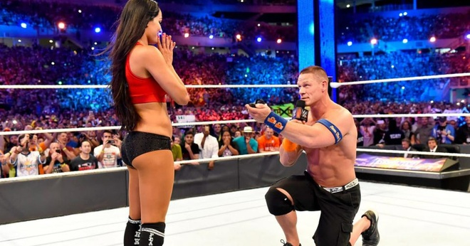 John Cena cau hon Nikki Bella anh 2