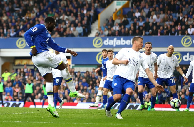Keo Leicester ve mat dat, Lukaku cham dinh phong do ghi ban hinh anh 2