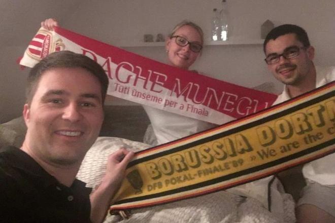 Fan Dortmund mo chien dich cho CDV Monaco ngu nho hinh anh 5
